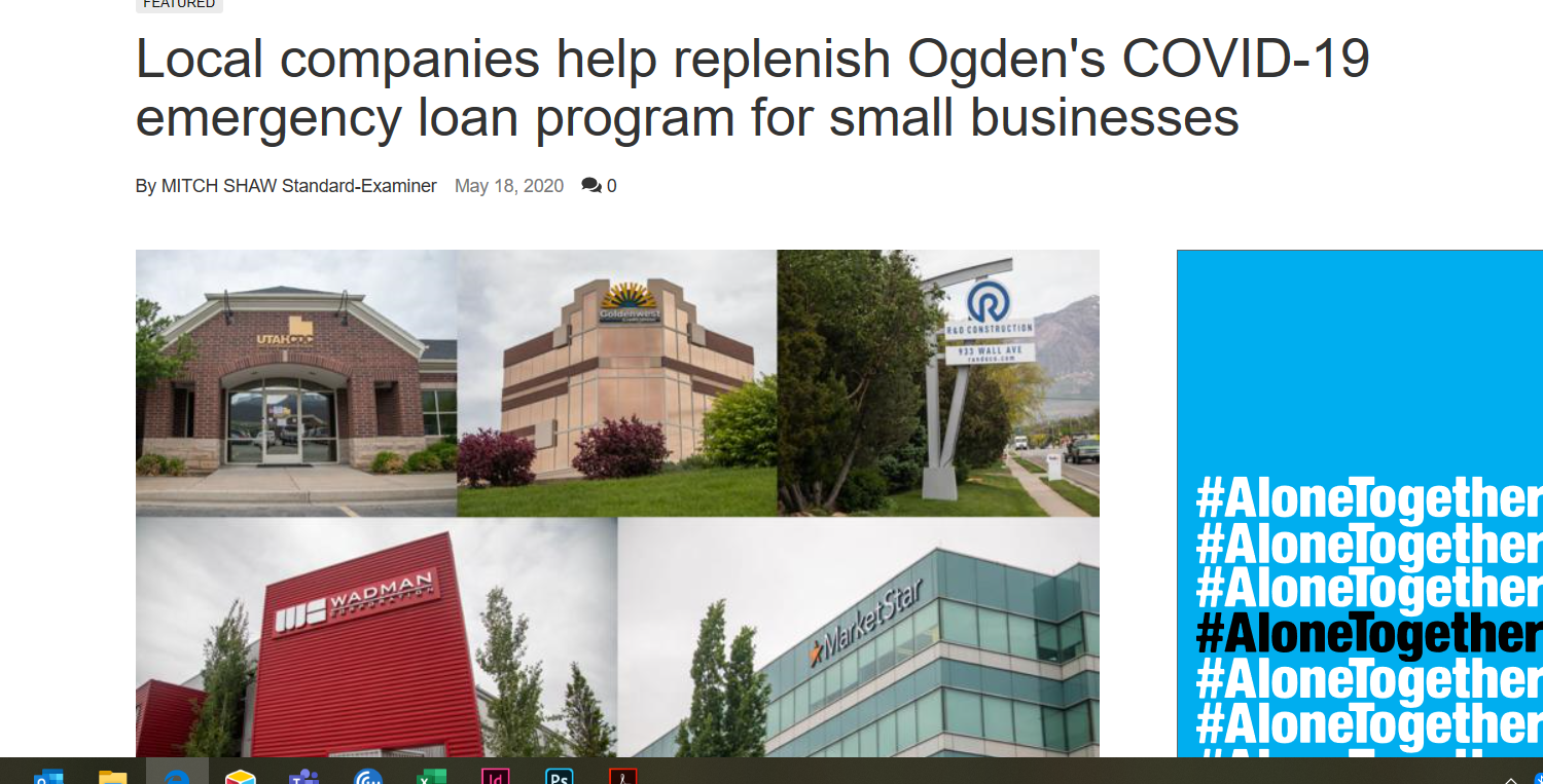 R&O Donates to Emergency Loan Fund for Small Businesses